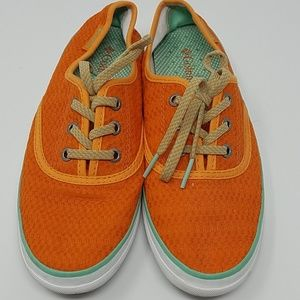 Columbia Tennis Shoes Sneakers 6.5 Orange